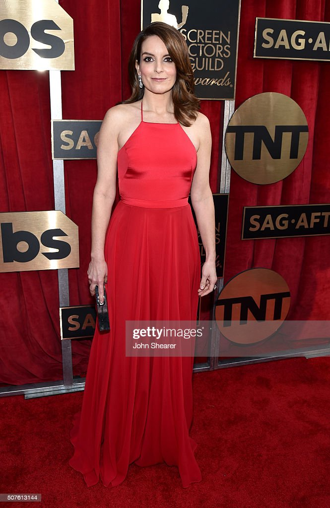 Actress Tina Fey attends the 22nd Annual Screen Actors Guild Awards at The Shrine Auditorium on January 30, 2016 in Los Angeles, California.