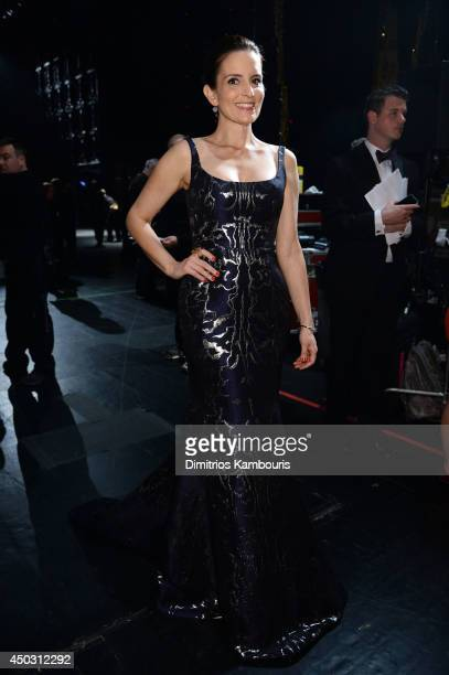 Actress Tina Fey attends the 68th Annual Tony Awards at Radio City Music Hall on June 8 2014 in New York City