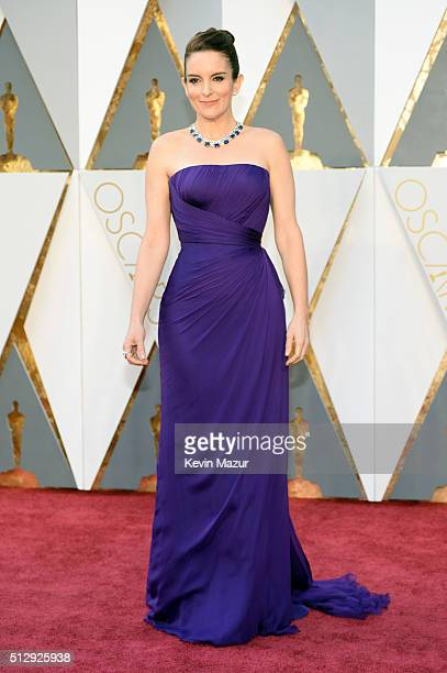 Actress Tina Fey attends the 88th Annual Academy Awards at Hollywood & Highland Center on February 28, 2016 in Hollywood, California.