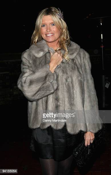 Actress Tina Hobley attends the Breast Cancer Haven Christmas Carol Service on December 8 2009 in London England