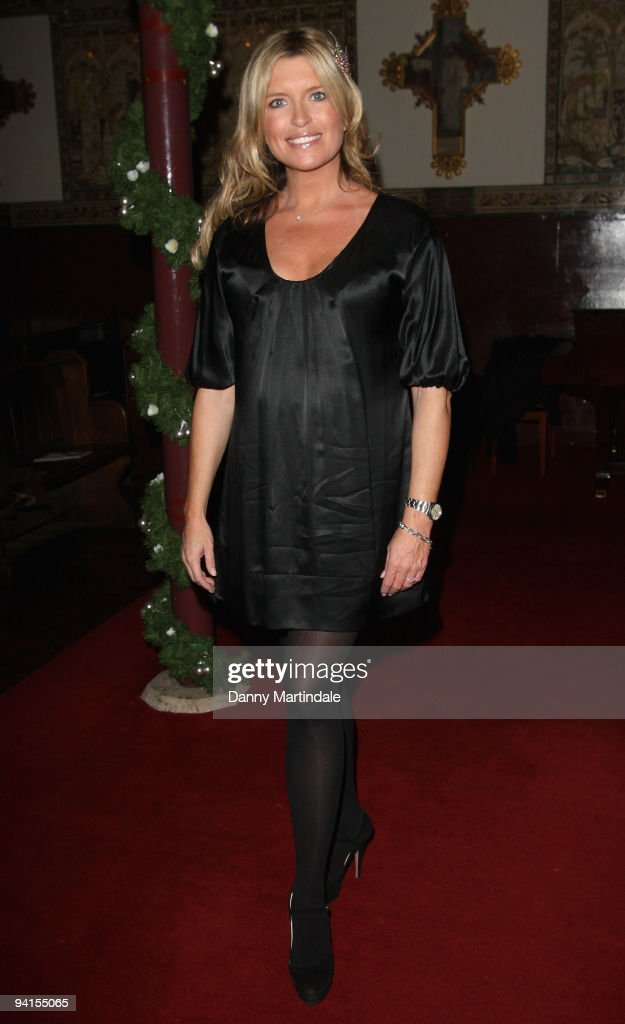 Actress Tina Hobley attends the Breast Cancer Haven Christmas Carol Service on December 8, 2009 in London, England.