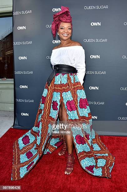 "Actress Tina Lifford attends OWN Oprah Winfrey Network's ""Queen Sugar"" premiere at the Warner Bros Studio Lot Steven J Ross Theater on August 29 2016..."