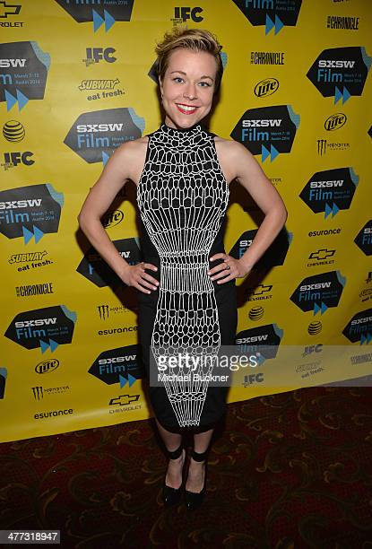 Actress Tina Majorinio arrives at the premiere of 'Veronica Mars' during the 2014 SXSW Music Film Interactive Festival at the Paramount Theatre on...