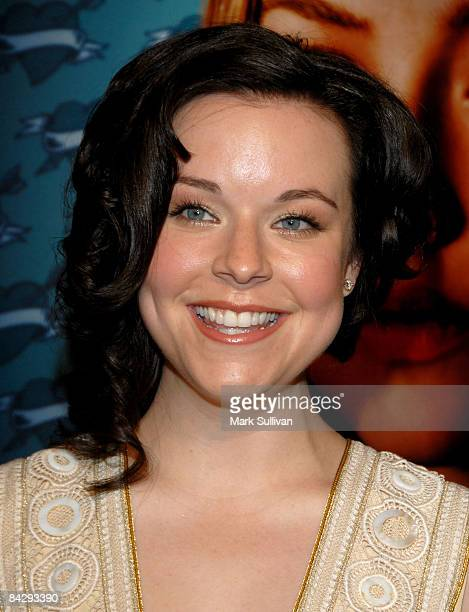 Actress Tina Majorino arrives at the 3rd season Los Angeles premiere of Big Love at The Cinerama Dome on January 14 2009 in Hollywood California