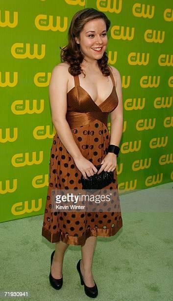 Actress Tina Majorino arrives at the CW Launch Party at the Warner Bros Studio on September 18 2006 in Burbank California
