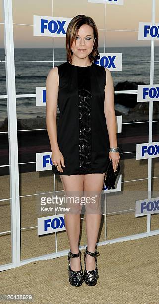 Actress Tina Majorino arrives at the FOX AllStar party at Gladstones on August 5 2011 in Pacific Palisades California