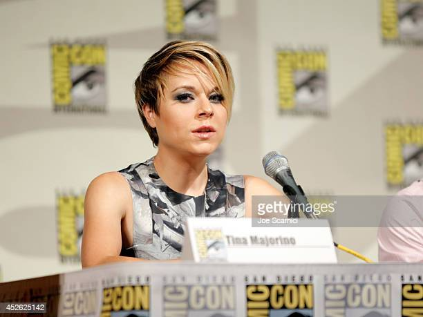 Actress Tina Majorino attends TNT's Legends panel during ComicCon International San Diego 2014 at San Diego Convention Center on July 24 2014 in San...