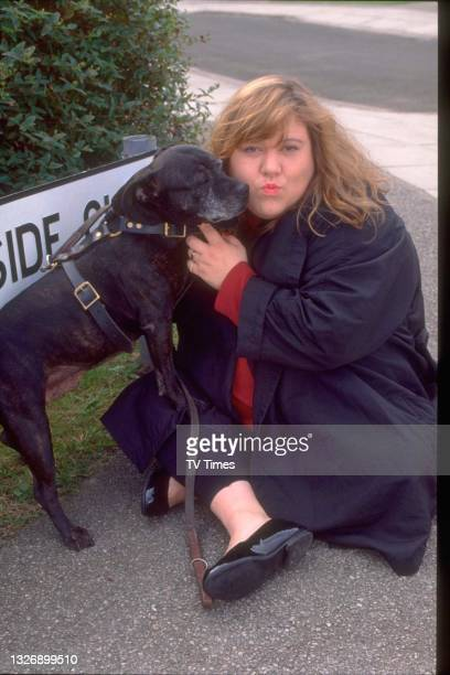 Actress Tina Malone in character as Mo McGee in television soap Brookside, circa September 1996. .