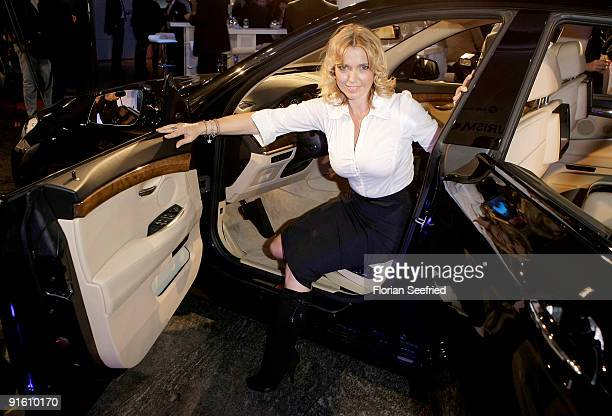 Actress Tina Ruland attends the presentation of the new 'BMW 5er Gran Turismo' and 'BMW X1' at a BMW branch on October 8 2009 in Berlin Germany