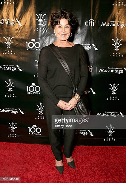 Actress Tina Sinatra attends the Sinatra 100 Concert at The Grove on October 9 2015 in Los Angeles California