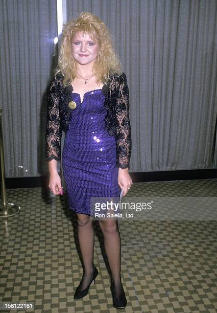 Actress Tina Yothers attends the 19th Annual Nosotros Golden Eagle Awards on June 9 1989 at Beverly Hilton Hotel in Beverly Hills California