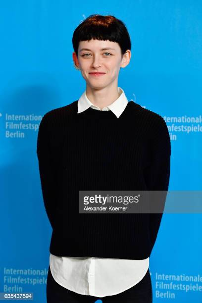 Actress Tinatin Dalakishvili attends the 'Hostages' photo call during the 67th Berlinale International Film Festival Berlin at Grand Hyatt Hotel on...