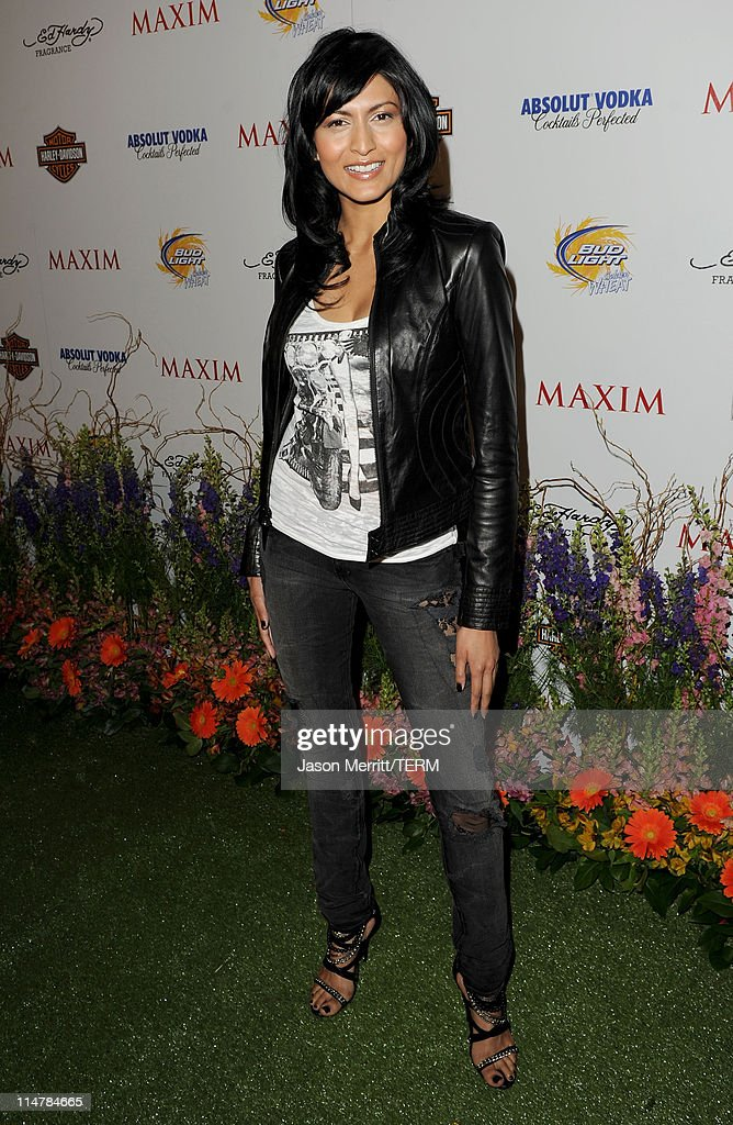 Actress Tinsel Korey arrives at the 11th annual Maxim Hot 100 Party with Harley-Davidson, ABSOLUT VODKA, Ed Hardy Fragrances, and ROGAINE held at Paramount Studios on May 19, 2010 in Los Angeles, California.