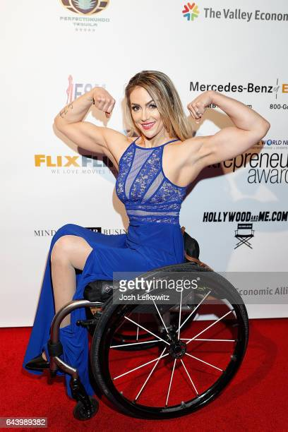 Actress Tiphany Adams attends the 2017 Entrepreneur Awards at Allure Events And Catering on February 22 2017 in Van Nuys California