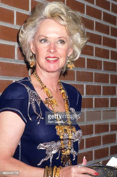 Actress Tippi Hedren attends Alpo's 11th Bi-Annual Actors and Others for Animals Celebrity Fair on August 30, 1987 at Burbank Studio Ranch in...