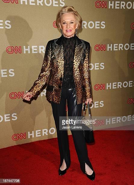 Actress Tippi Hedren attends CNN Heroes An AllStar Tribute at The Shrine Auditorium on December 2 2012 in Los Angeles California