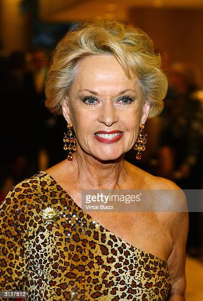 Actress Tippi Hedren attends the 18th Annual Genesis Awards presented by the Humane Society of the United States on March 20, 2004 in Beverly Hills,...