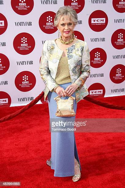 Actress Tippi Hedren attends the 2014 TCM Classic Film Festival opening night gala and world premiere of the restoration of 'Oklahoma' held at the...