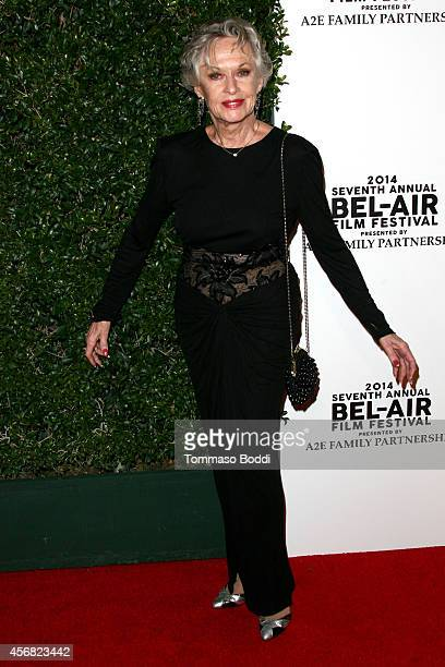 Actress Tippi Hedren attends the 7th annual BelAir Film Festival opening night gala on October 7 2014 in Beverly Hills California