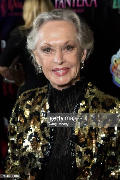 Actress Tippi Hedren attends the Rio Vista Universal's Valkyrie Awards and Holiday Party on December 16 2017 in Los Angeles California