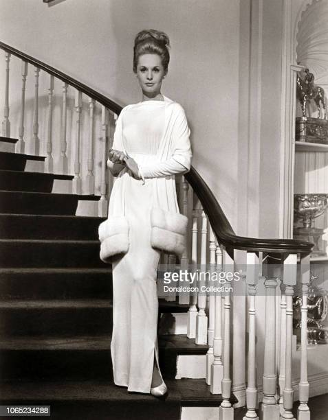 Actress Tippi Hedren in a scene from the movie Marnie