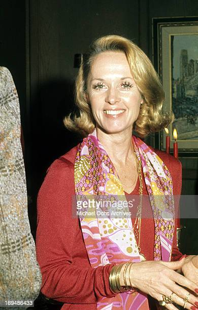 Actress Tippi Hedren poses for a portrait in circa 1973