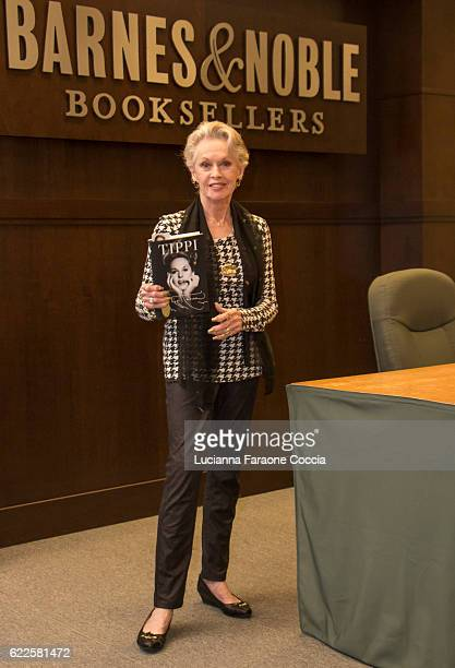 Actress Tippi Hedren poses for portrait at her book signing for 'Tippi' at Barnes Noble at The Grove on November 11 2016 in Los Angeles California
