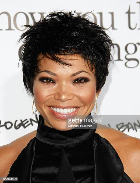 Actress Tisha Campbell arrives at the premiere of Weinstein Company's Zack and Mira Make A Porno at Grauman's Chinese Theater on October 20 2008 in...