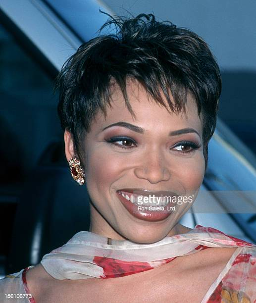 Actress Tisha Campbell attending 11th Annual Soul Train Music Awards on March 7 1997 at Shrine Auditorium in Los Angeles California