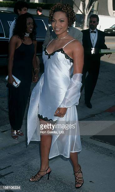 Actress Tisha Campbell attending 'Jim Thorpe Pro Sports Awards' on July 8 1995 at The Wiltern Theater in Los Angeles California