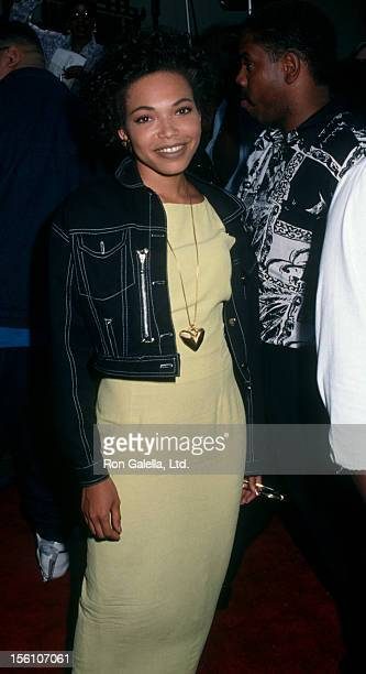 Actress Tisha Campbell attending the premiere of 'Boomerang' on June 28 1992 at Mann Chinese Theater in Hollywood California
