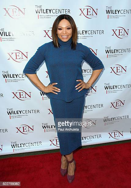 Actress Tisha Campbell Martin attends the benefit for children with autism at Xen Lounge on April 17 2016 in Studio City California