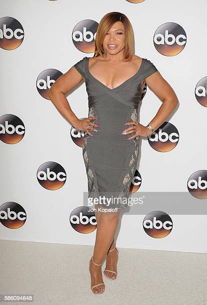 Actress Tisha CampbellMartin arrives at Disney ABC Television Group Hosts TCA Summer Press Tour at the Beverly Hilton Hotel on August 4 2016 in...