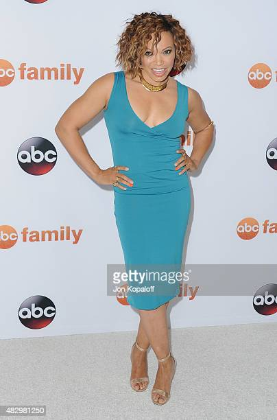 Actress Tisha Campbell-Martin arrives at Disney ABC Television Group's 2015 TCA Summer Press Tour at the Beverly Hilton Hotel on August 4, 2015 in...