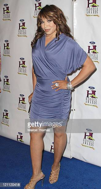 Actress Tisha CampbellMartin arrives at the 9th Annual Ford Hoodie Awards and VIP Pre Reception Hosted By Steve Harvey at Mandalay Bay Events Center...