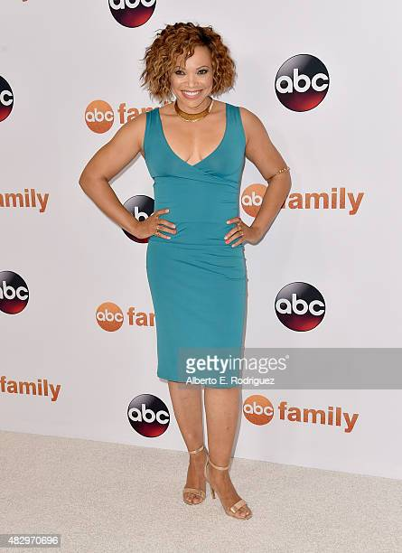 Actress Tisha Campbell-Martin attends Disney ABC Television Group's 2015 TCA Summer Press Tour at the Beverly Hilton Hotel on August 4, 2015 in...