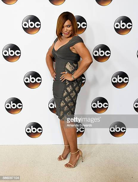 Actress Tisha CampbellMartin attends the Disney ABC Television Group TCA Summer Press Tour on August 4 2016 in Beverly Hills California