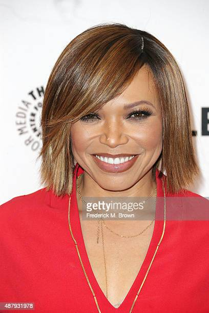 Actress Tisha CampbellMartin attends The Paley Center for Media's PaleyFest 2015 Fall TV Preview for ABC at The Paley Center for Media on September...