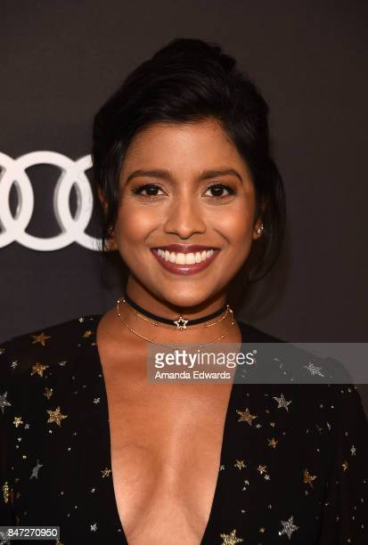 Actress Tiya Sircar arrives at the Audi Celebrates The 69th Emmys party at The Highlight Room at the Dream Hollywood on September 14, 2017 in...
