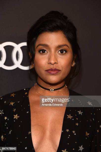 Actress Tiya Sircar arrives at the Audi Celebrates The 69th Emmys party at The Highlight Room at the Dream Hollywood on September 14 2017 in...
