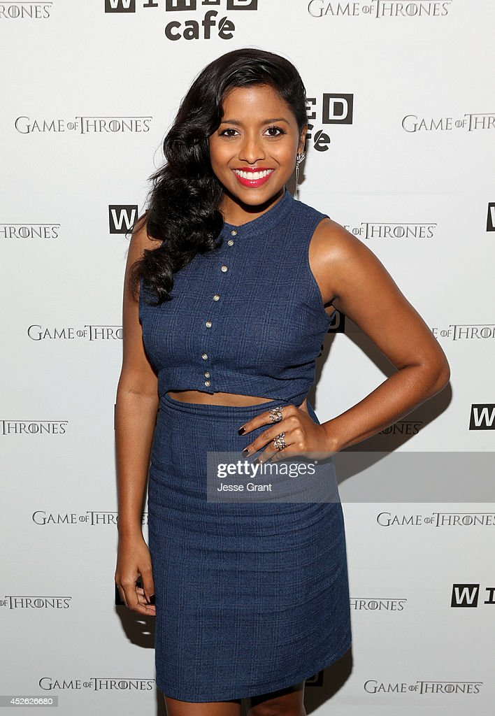 Actress Tiya Sircar attends day 1 of the WIRED Cafe @ Comic Con at Omni Hotel on July 24, 2014 in San Diego, California.
