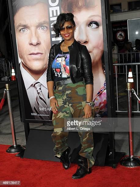 """Actress Toccara Jones arrives for the Premiere Of Universal Pictures' """"Identity Thief"""" held at Mann Village Theater on February 4, 2013 in Westwood,..."""