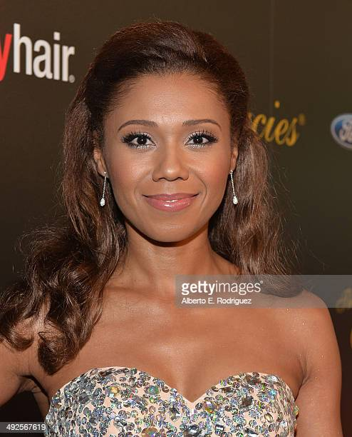 Actress Toks Olagundoye arrives to the 39th Gracie Awards Gala at The Beverly Hilton Hotel on May 20, 2014 in Beverly Hills, California.