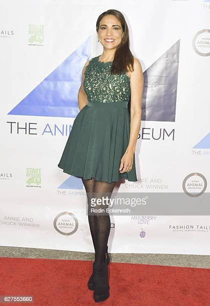 Actress Tonantzin Carmelo attends the grand opening of the Animal Museum on December 3 2016 in Los Angeles California