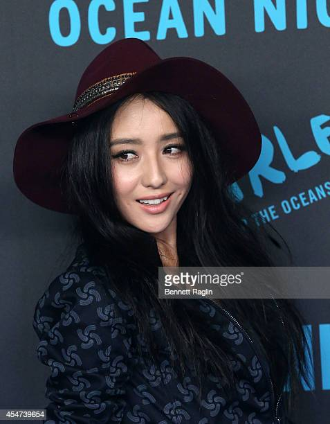 Actress Tong Liya attends the GStar RAW Ocean Night Event during MercedesBenz Fashion Week Spring 2015 at 23 Wall Street on September 5 2014 in New...