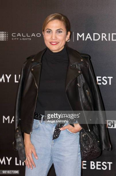 Actress Toni Acosta attends 'The Best Day Of My Life' Madrid premiere at Callao cinema on March 13 2018 in Madrid Spain