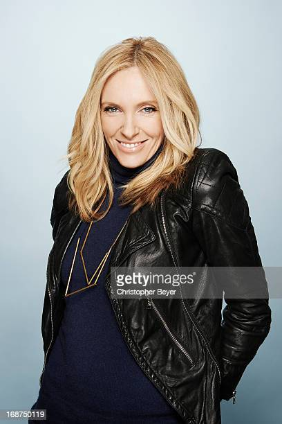 Actress Toni Colette is photographed at the Sundance Film Festival for Entertainment Weekly Magazine on January 21 2013 in Park City Utah