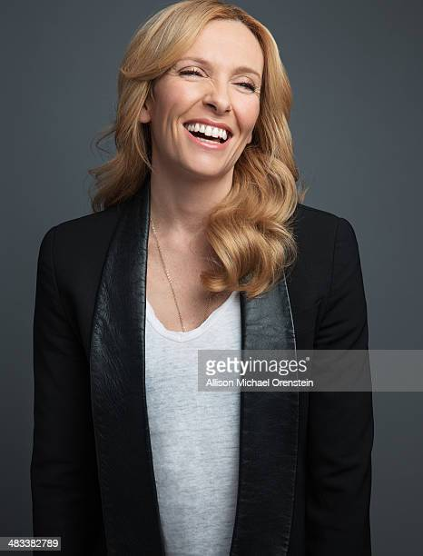 Actress Toni Colette is photographed for Wall Street Journal on March 25 2014 in New York City PUBLISHED IMAGE