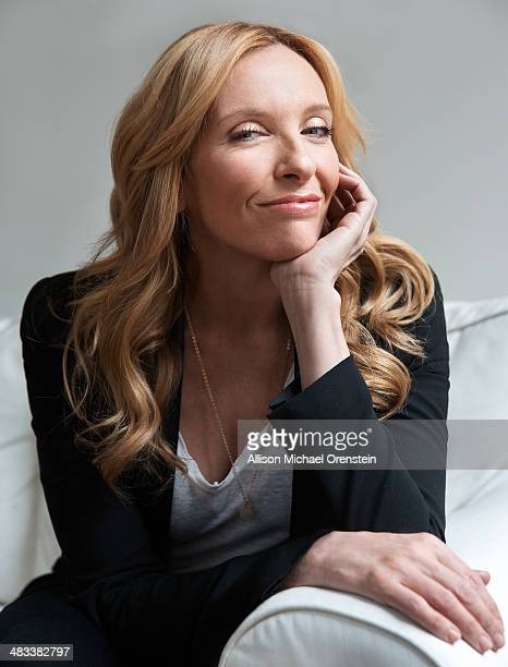 Actress Toni Colette is photographed for Wall Street Journal on March 25 2014 in New York City