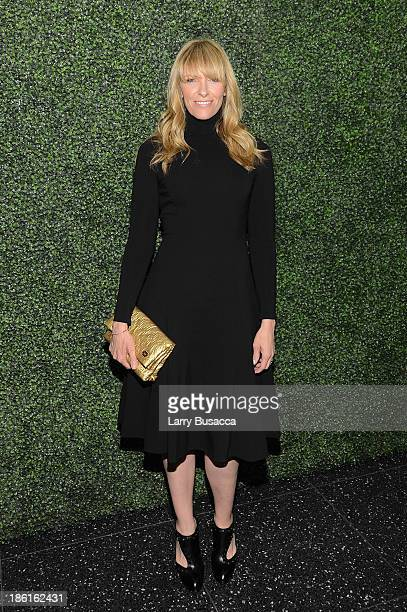 Actress Toni Collette arrives as Ralph Lauren Presents Exclusive Screening Of Hitchcock's To Catch A Thief Celebrating The Princess Grace Foundation...